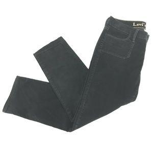Levis 545 Low Rise Bootcut Corduroy Pants Sz 12